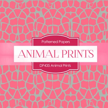 Digital Papers - Animal Prints (DP435)