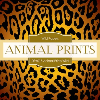 Digital Papers -  Animal Prints Wild Thing (DP4015)