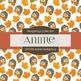 Digital Papers - Anime Hedgehog (DP6702)
