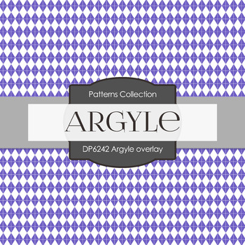 Digital Papers - Argyle Overlay (DP6242)
