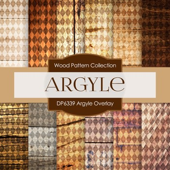 Digital Papers - Argyle Overlay (DP6339)