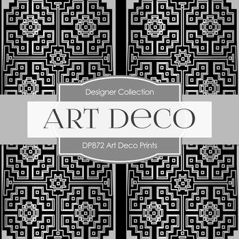 Digital Papers - Art Deco Prints (DP872)