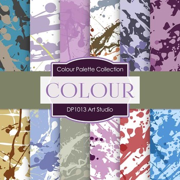 Digital Papers - Art Studio (DP1013)