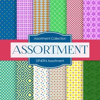 Digital Papers - Assortment (DP4094)