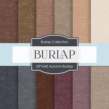 Digital Papers - Autumn Burlap (DP1045)