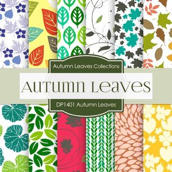 Digital Papers - Autumn Leaves (DP1401)