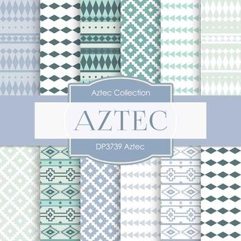 Digital Papers - Aztec (DP3739)