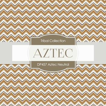 Digital Papers - Aztech Neutral (DP457)
