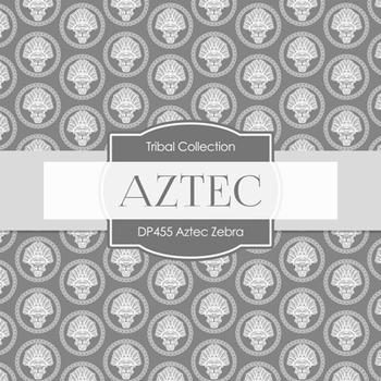 Digital Papers - Aztech Zebra (DP455)