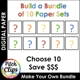 Digital Papers: {BUILD A BUNDLE} - 10 Sets! - Save $$$$