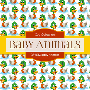 Digital Papers - Baby Animals (DP6513)