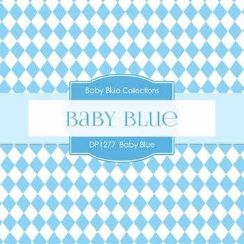 Digital Papers - Baby Blue (DP1277)