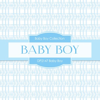 Digital Papers - Baby Boy (DP2147)