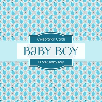 Digital Papers - Baby Boy (DP246)