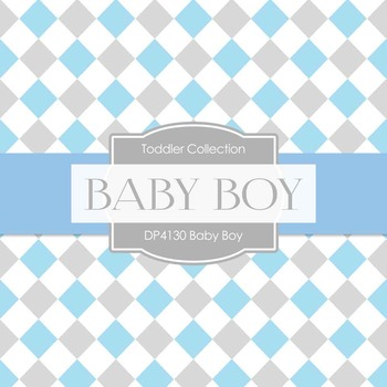 Digital Papers - Baby Boy (DP4130)
