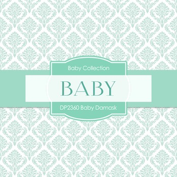 Digital Papers - Baby Damask (DP2360)