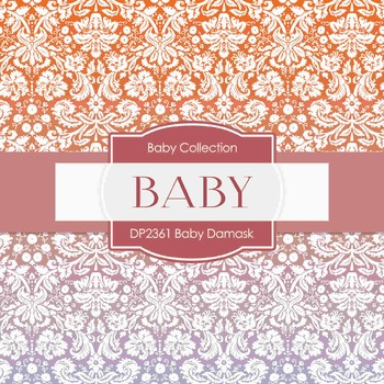 Digital Papers - Baby Damask (DP2361)