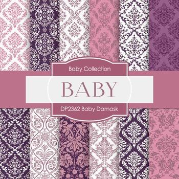 Digital Papers - Baby Damask (DP2362)