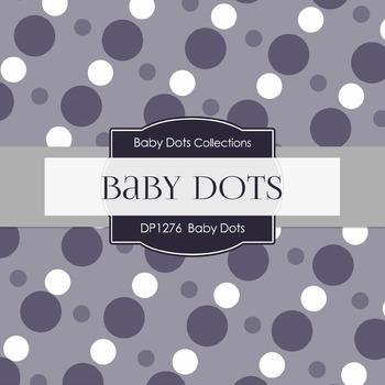 Digital Papers - Baby Dots (DP1276)