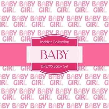 Digital Papers - Baby Girl (DP3795)