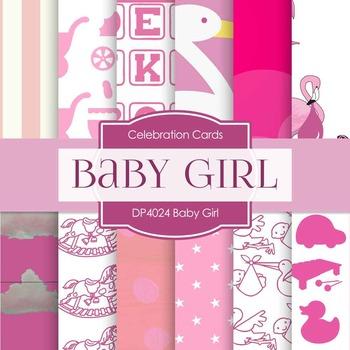 Digital Papers - Baby Girl (DP4024)