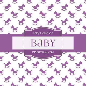Digital Papers - Baby Girl (DP4317)