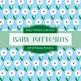 Digital Papers - Baby Patterns (DP1275)