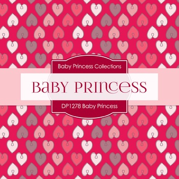Digital Papers - Baby Princess (DP1278)