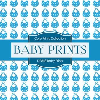 Digital Papers - Baby Prints (DP843)