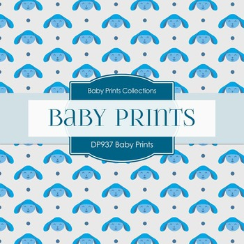 Digital Papers - Baby Prints (DP937)