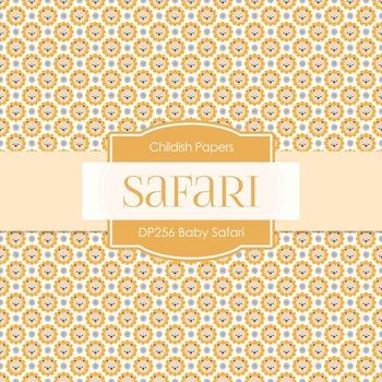 Digital Papers - Baby Safari (DP256)