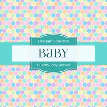 Digital Papers - Baby Shower B (DP1305)
