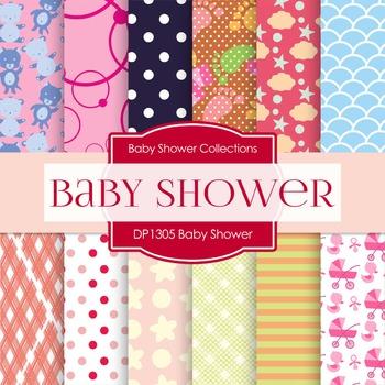 Digital Papers - Baby Shower (DP1305)