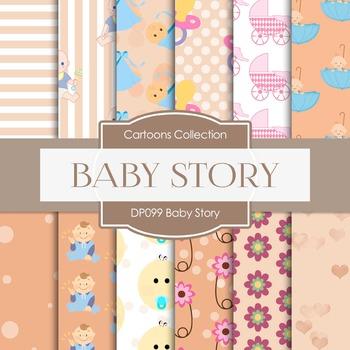 Digital Papers - Baby Story (DP099)
