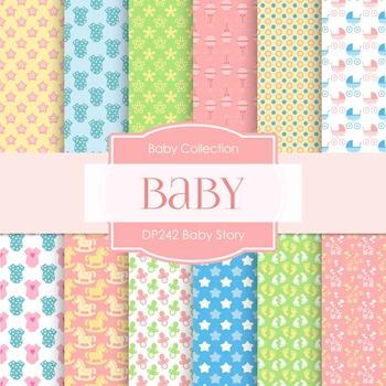 Digital Papers - Baby Story (DP242)