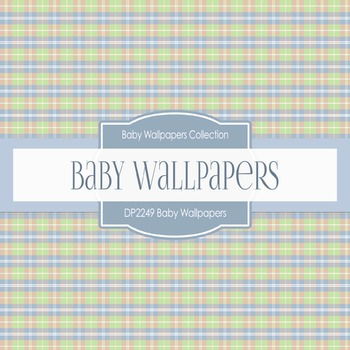 Digital Papers - Baby Wallpapers (DP2249)