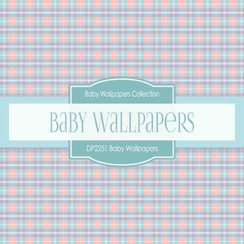 Digital Papers - Baby Wallpapers (DP2251)
