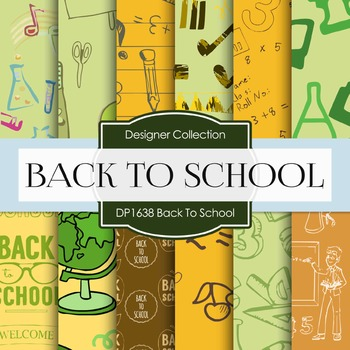 Digital Papers - Back To School (DP1638)