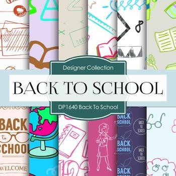 Digital Papers - Back To School (DP1640)