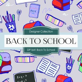 Digital Papers - Back To School (DP1641)
