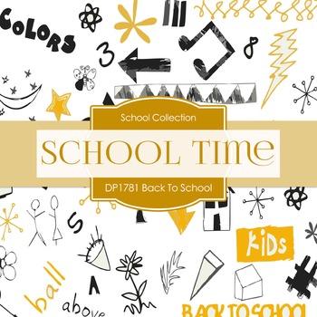 Digital Papers - Back To School (DP1781)