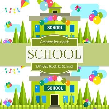 Digital Papers - Back To School (DP4025)