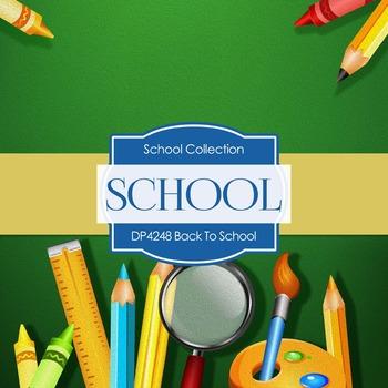 Digital Papers - Back To School (DP4248)