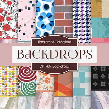 Digital Papers - Backdrops (DP1409)