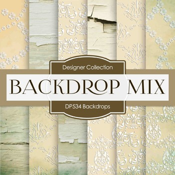 Digital Papers - Backdrops (DP534)