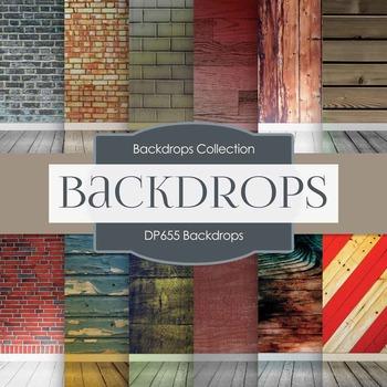 Digital Papers - Backdrops (DP655)