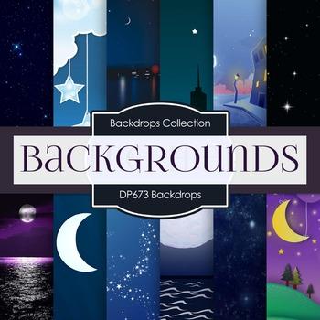 Digital Papers -  Backdrops (DP689)