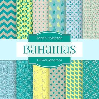 Digital Papers -  Bahamas (DP263)