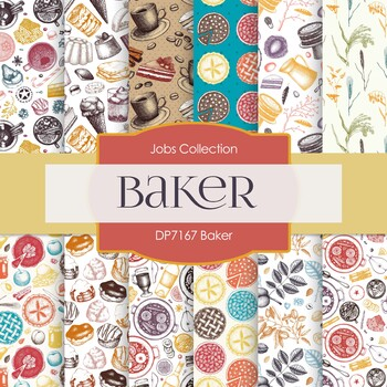 Digital Papers - Baker (DP7167)