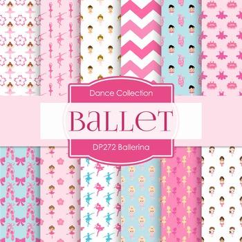 Digital Papers - Ballerina (DP272)